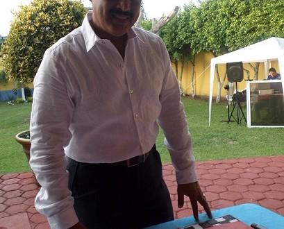 El doctor Norberto Luna López, muy felicitado en su cumpleaños.