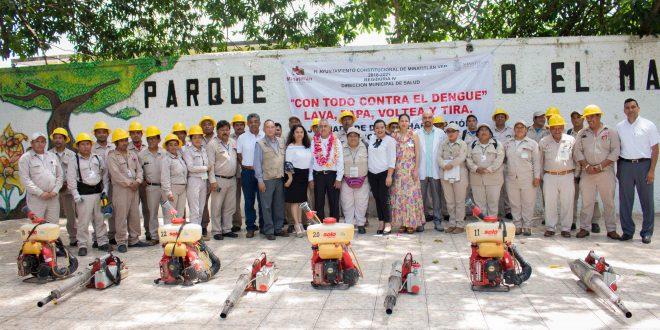 Inicia Jornada de la lucha contra Dengue, Zika y Chikungunya