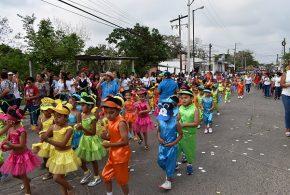 Conmemoran al Benemérito de las Américas y llegada de la Primavera en Cosoleacaque.