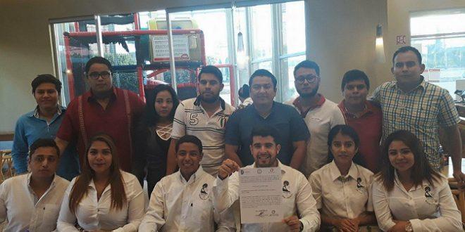 Entregan constancia de mayoría a GAMMA como Nuevos integrantes del CESA del Tec de Minatitlán