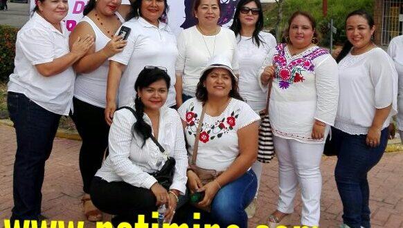 COLECTIVO DE MUJERES PERIODISTAS DE MINATITLÁN CONMEMORARON EL DÍA INTERNACIONAL DE LA MUJER