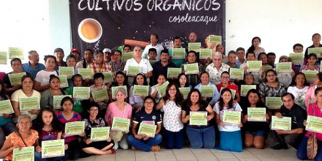 90 nuevos productores de Cultivos Orgánicos en Cosoleacaque.