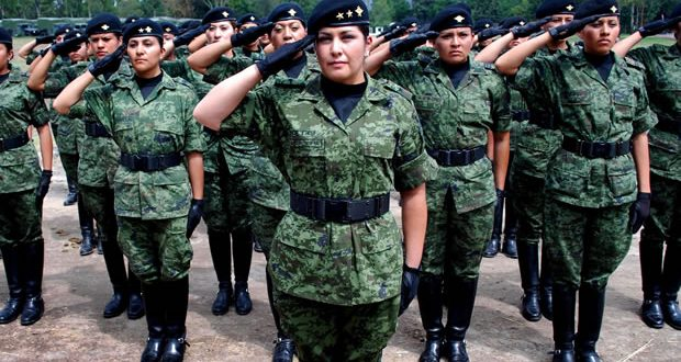 La Comandancia de la 29/a. Zona Militar, invita a las mujeres a unirse a las filas del Ejército Mexicano.