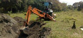 Construyen represas para alevines en Cosoleacaque.