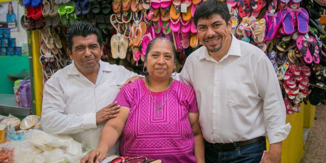 SECTOR COMERCIAL DE LAS CHOAPAS RESPALDA A RAÚL ALFARO
