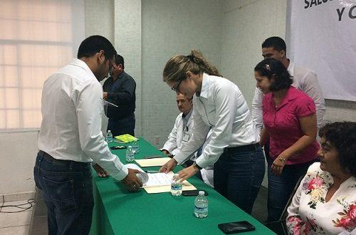 Toman Protesta Comités de Salud y de Prevención y control del Dengue en Cosoleacaque.