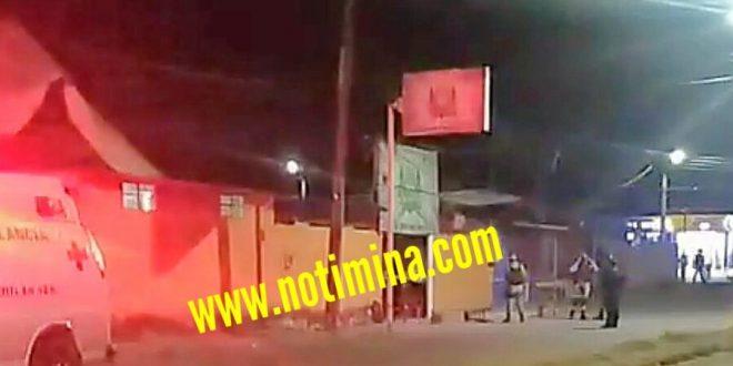 """EN MINATITLÁN COMANDO ARMADO EJECUTA A DOS PERSONAS EN EL BAR """"LA TECOLOTA"""""""