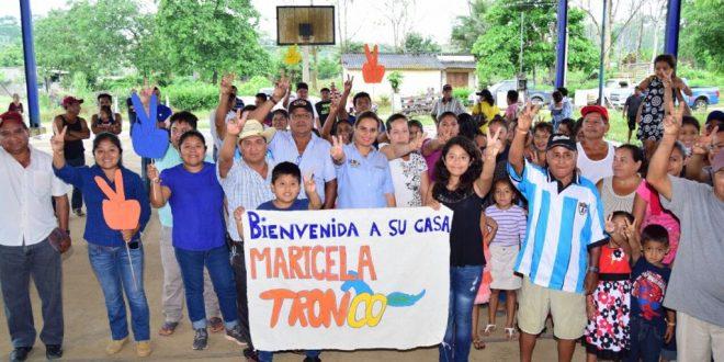PAN PRD Y MC, UNIDOS POR MARICELA TRONCO