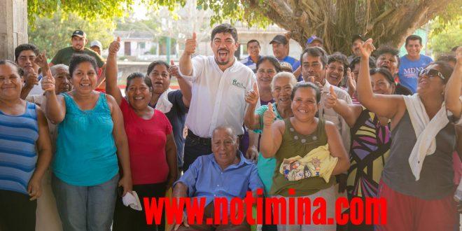 PALO DULCE Y CUAPILOLOYITA VOTARÁN POR RAÚL ALFARO