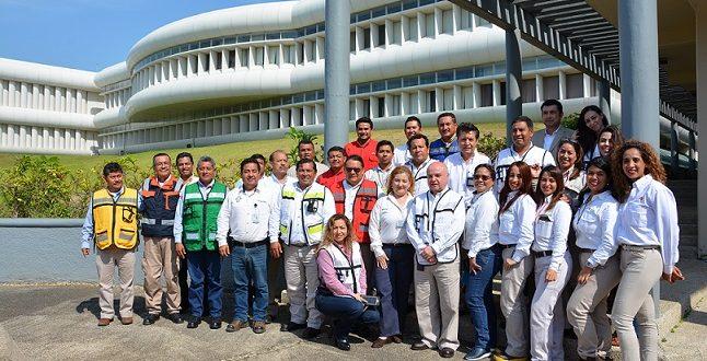 """Pemex imparte """"Taller Ejecutivo del Sistema de Comando de Incidentes"""" a los integrantes del GRAME Veracruz Sur"""