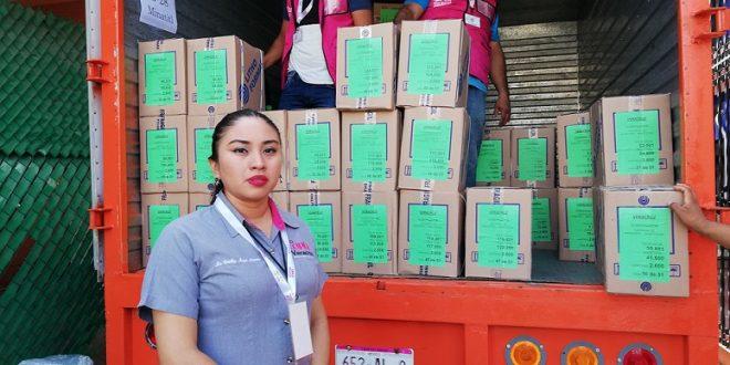 Llegan boletas al OPLE Minatitlán