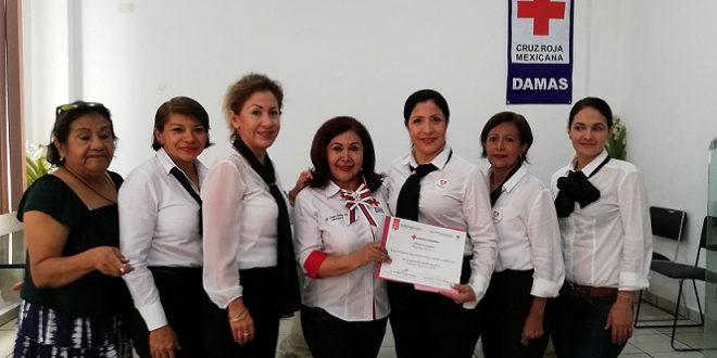 Entregan Informe Colecta 2018 de la Cruz Roja de Minatitlán.